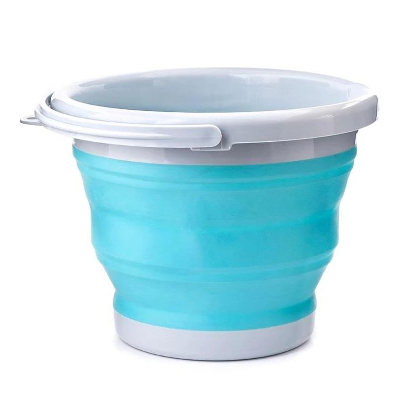 Kikkerland Collapsible Silicone Bucket