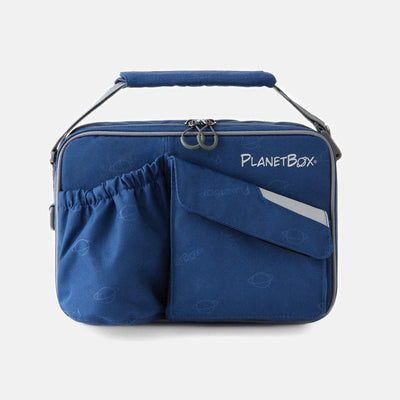 PlanetBox Carry Lunch Bag, Black Pearl