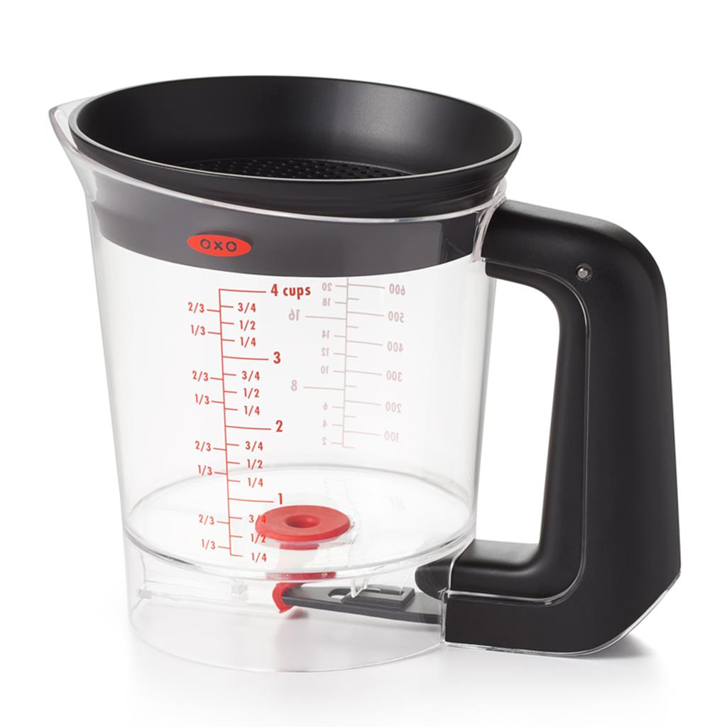 OXO 4- Cup Trigger Fat Seperator