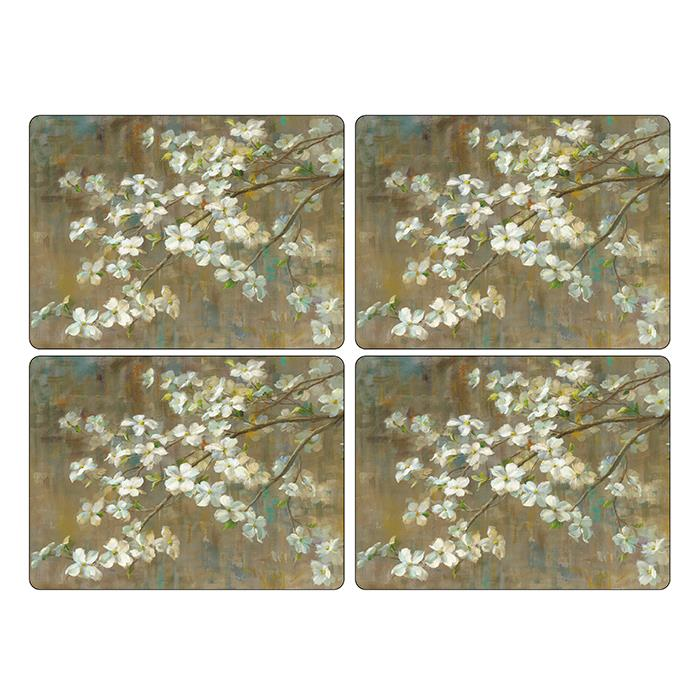 Pimpernel Dogwood in Spring Placemat Set