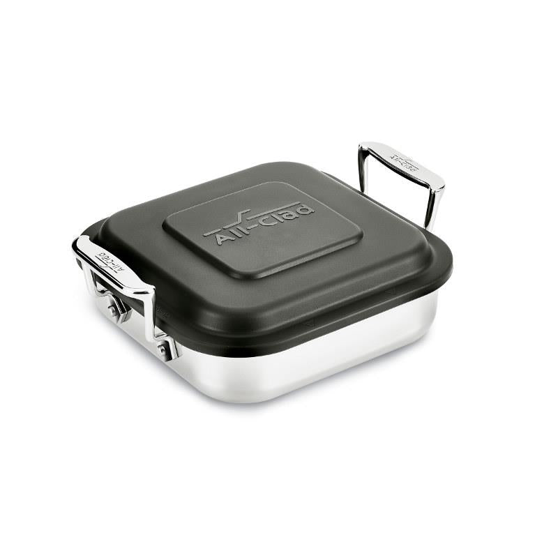 All-Clad Stainless Steel Square Baker w/ Lid