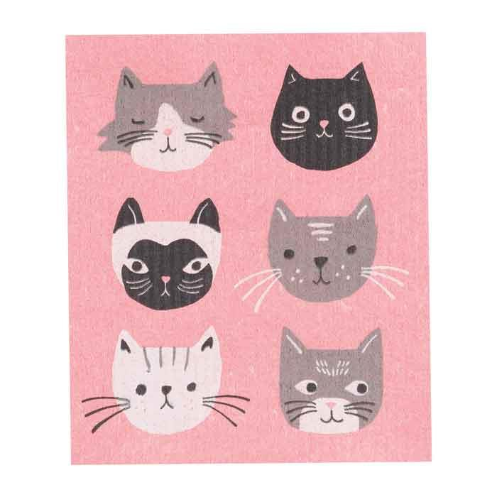 Now Designs Cat's Meow Swedish Dish Cloth