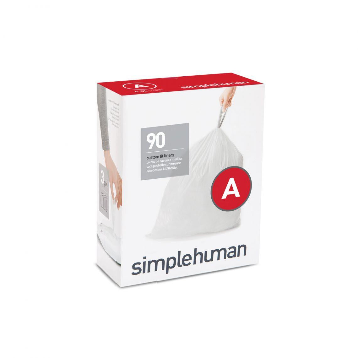 Simplehuman Code A Custom Fit Waste Liner, 4.5L
