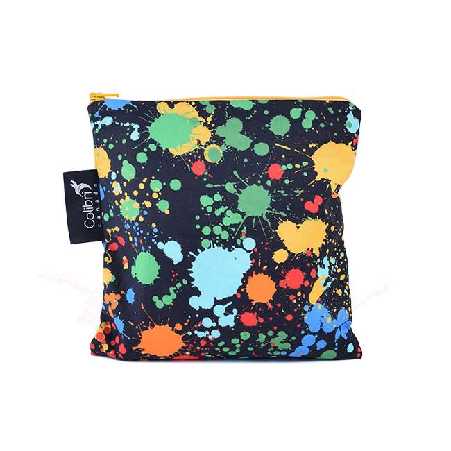 Colibri Splatter Reusable Snack Bag, Large