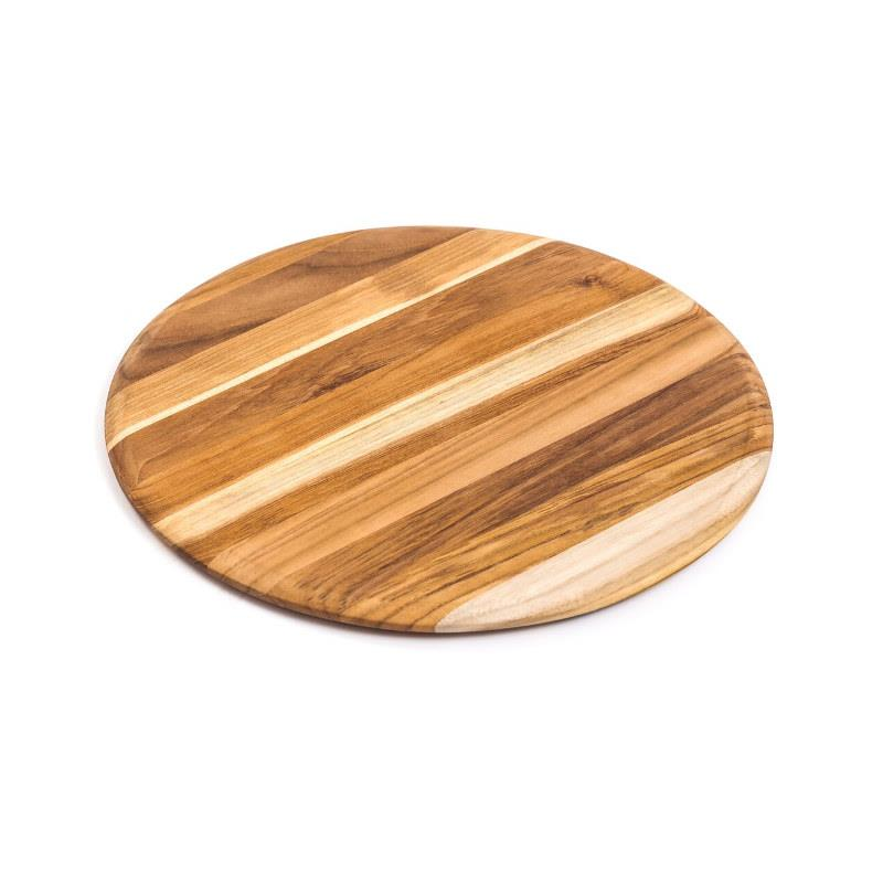 "Teak Haus 13"" Round Serving Board"