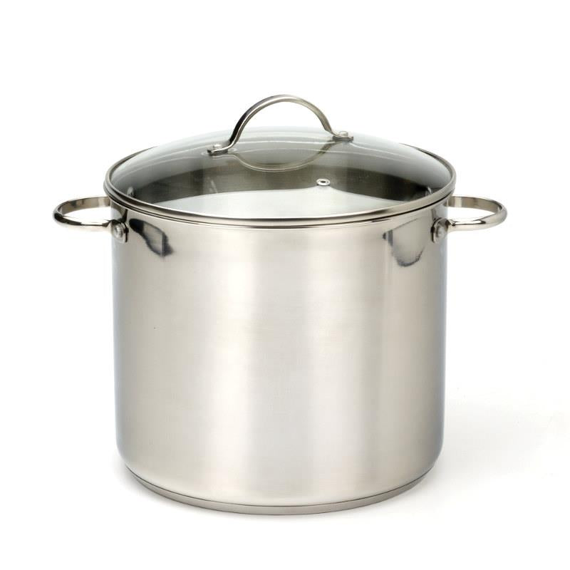 RSVP Stainless Steel Stock Pot