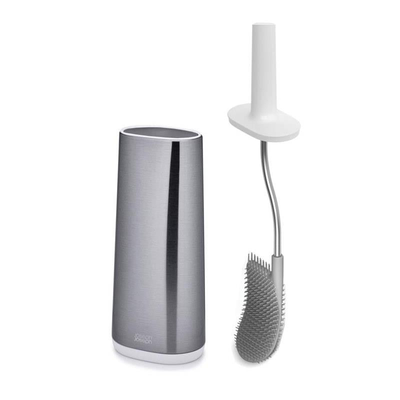 Joseph Joseph Stainless Steel Flex Toilet Brush