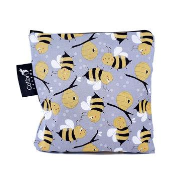 Large, Colibri Bumblebee Reusable Snack Bag