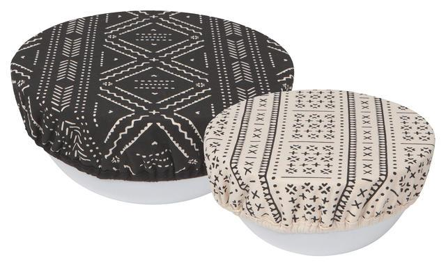 Now Designs Save It Bowl Covers Onyx Set of 2