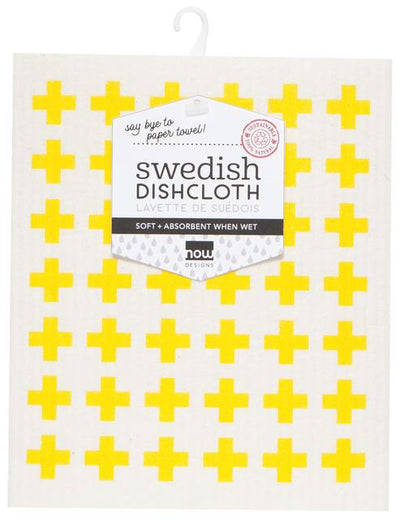 Now Designs Swedish Dish Cloth Lemon
