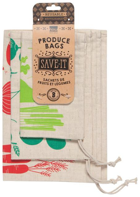 Now Designs Shop Local Produce Bag Set of 3