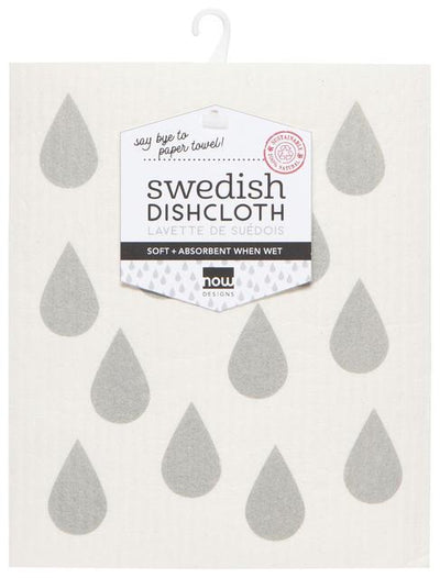Now Designs Swedish Dish Cloth London Gray
