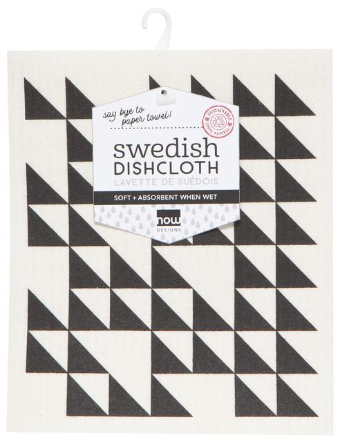 Now Designs Swedish Dish Cloth Black
