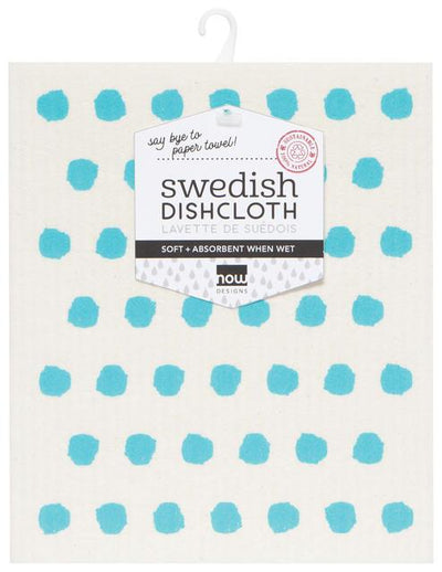 Now Designs Swedish Dish Cloth Bali Blue