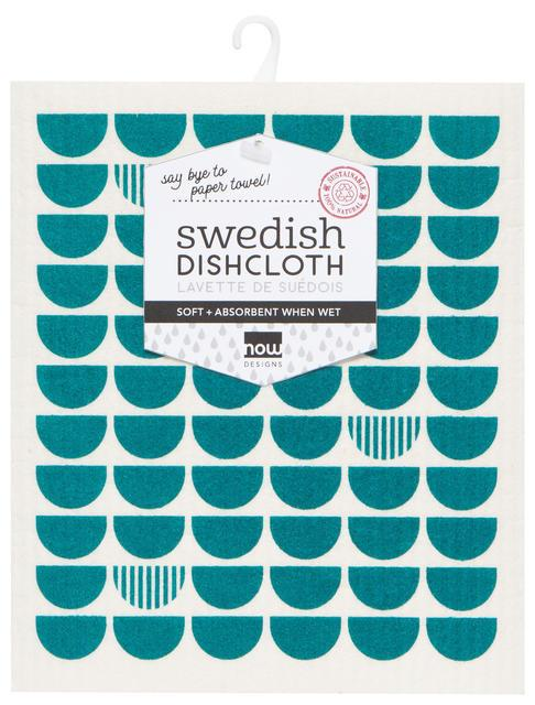 Now Designs Swedish Dish Cloth Peacock
