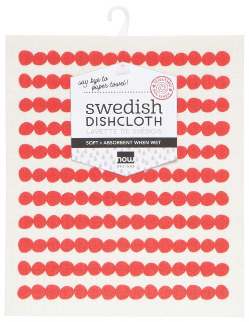 Now Designs Swedish Dish Cloth Red