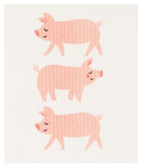 Now Designs Swedish Dish Cloth Penny Pig