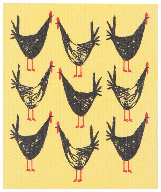 Now Designs Swedish Dish Cloth Chicken Scratch