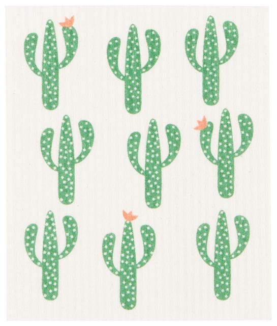 Now Designs Swedish Dish Cloth Cacti