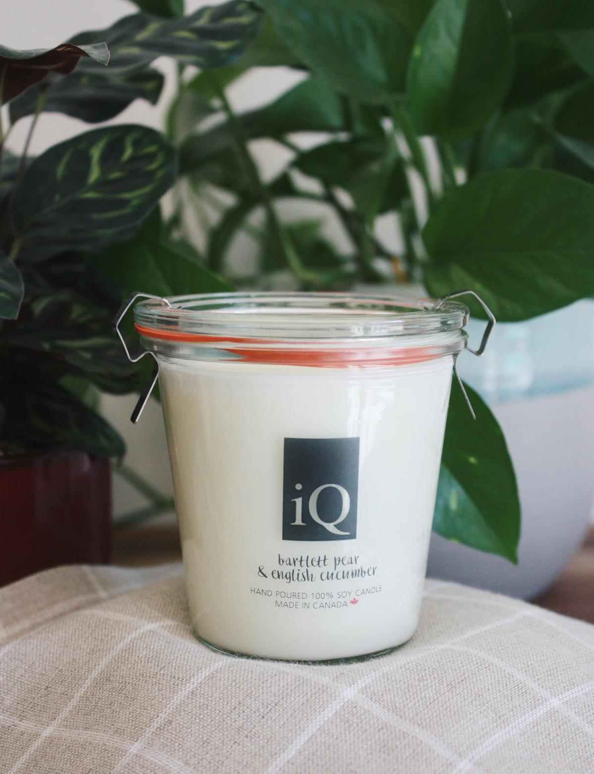 Candle iQ 7oz Pear Cucumber