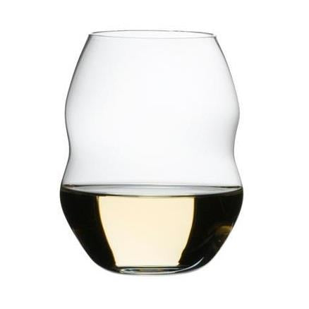 Riedel Swirl White Wine Glasses Set of 2