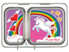 PlanetBox Shuttle Lunch Box Unicorn Magnets