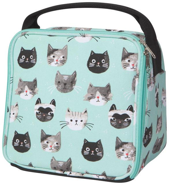Now Cat's Meow Let's Do Lunch Bag