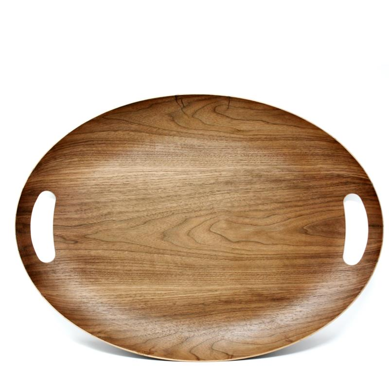 Natural Living Oval Serving Tray