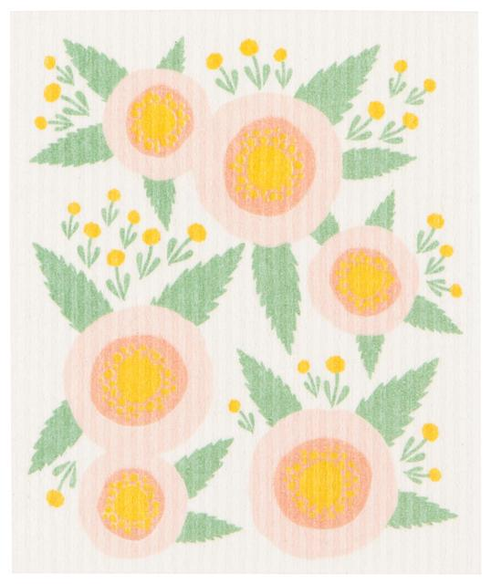 Now Designs Swedish Dish Cloth Rosa