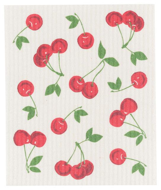 Now Designs Swedish Dish Cloth Cherries