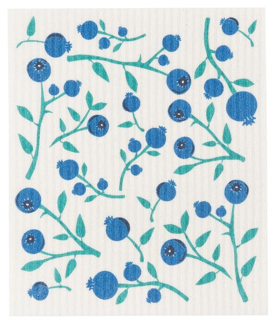 Now Designs Swedish Dish Cloth Blueberry