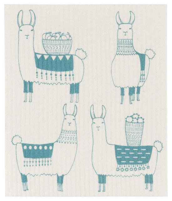 Now Designs Swedish Dish Cloth Llamarama