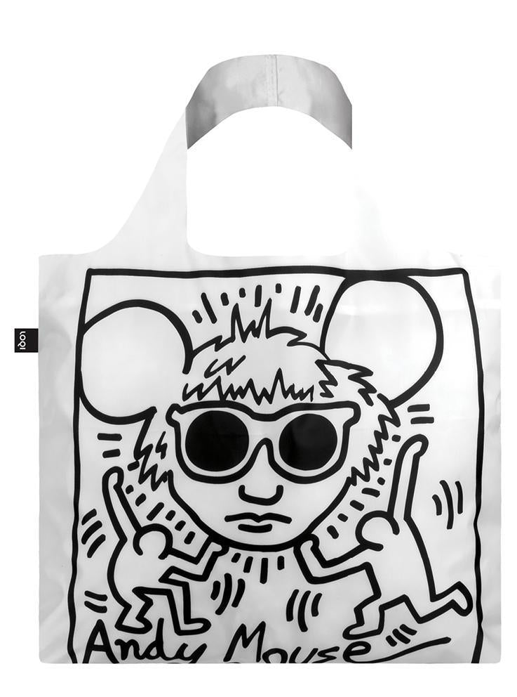 LOQI Haring Andy Mouse Tote Bag