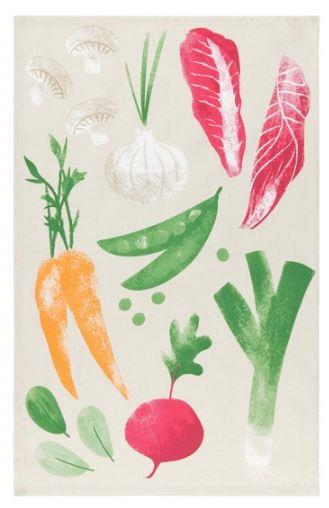 Now Designs Flamingos Cotton Tea Towel