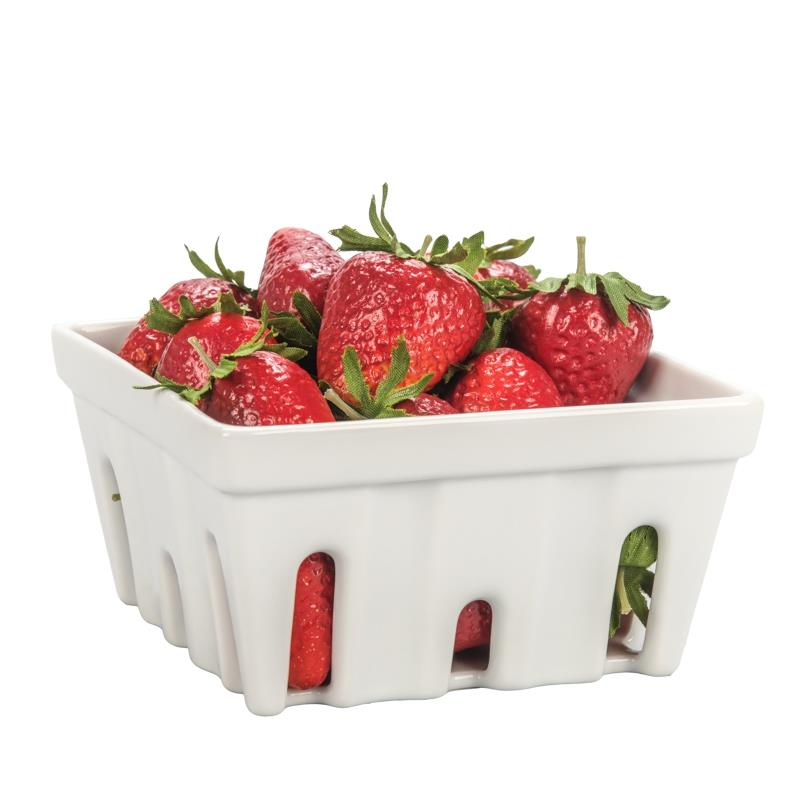 BIA Square Ceramic Berry Basket