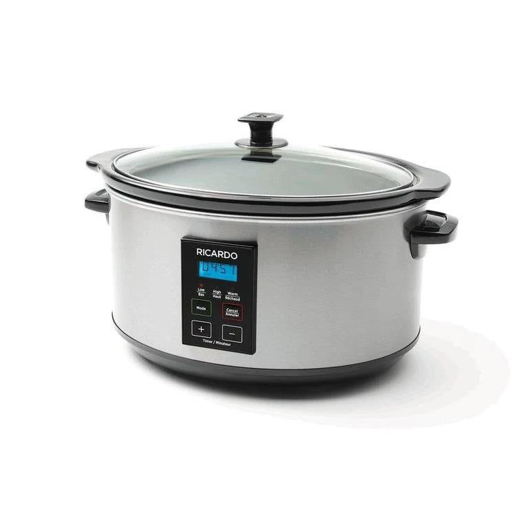 Ricardo Digital 6qt Slow Cooker