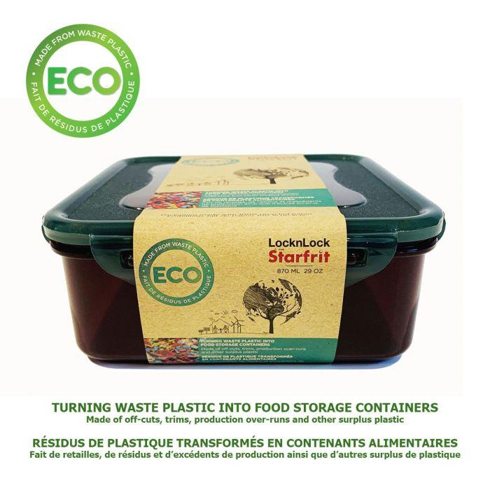 Starfrit Lock n Lock Eco Square Food Container