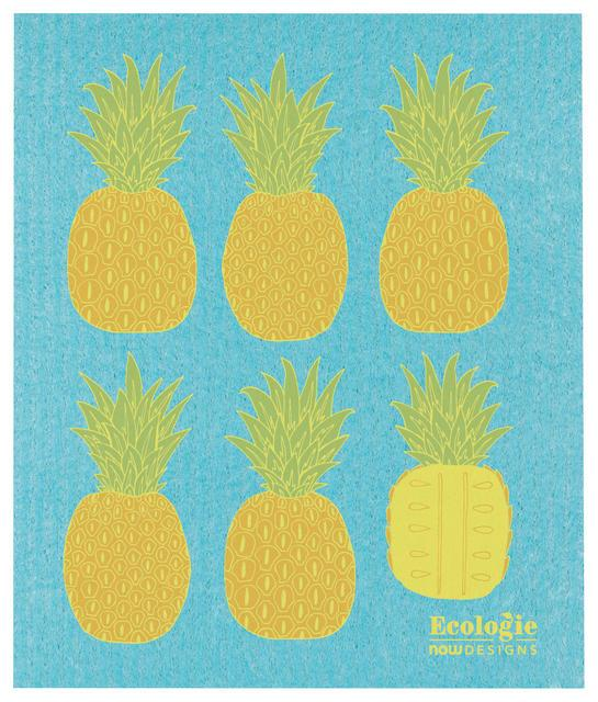 Now Designs Swedish Dish Cloth Pineapples
