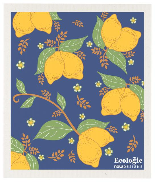 Now Designs Swedish Dish Cloth Provencal Lemon