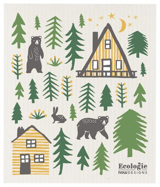 Now Designs Swedish Dish Cloth Wild Life
