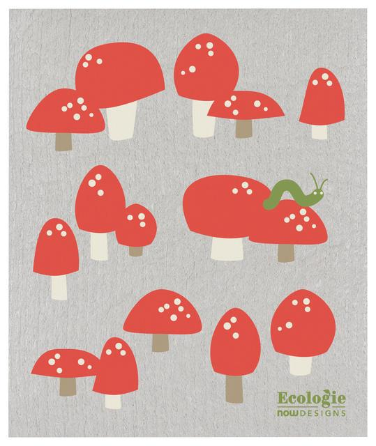 Now Designs Swedish Dish Cloth Toadstools