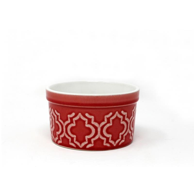 BIA Dominique Red Ramekin, 175ml