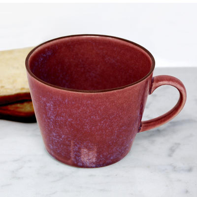 BIA Purple Glazed Mug