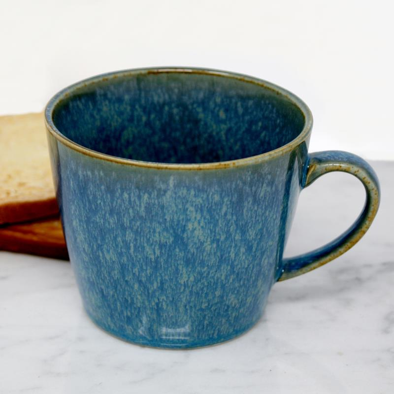 BIA Teal Glazed Mug