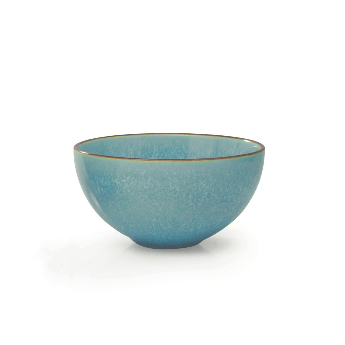 "BIA 4.5"" Light Blue Glazed Dip Bowl"