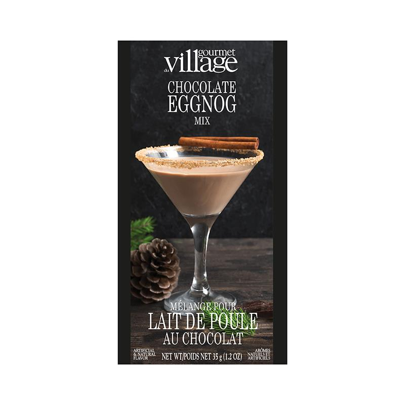 Gourmet Du Village Chocolate Eggnog Mix