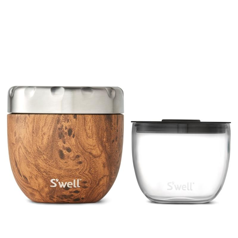 S'well 21.5oz Teakwood Eats Food Container