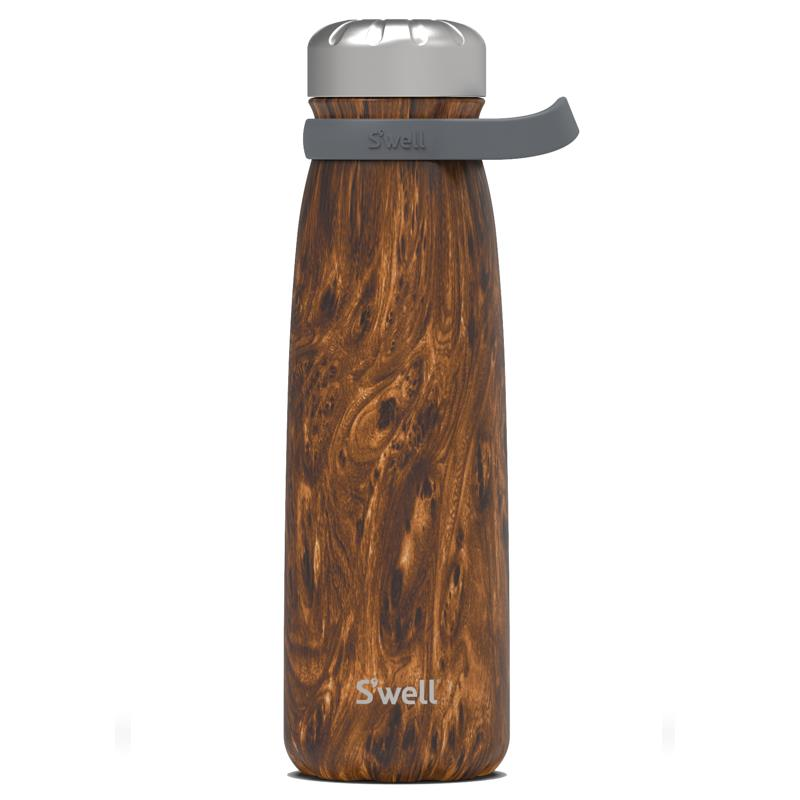 S'well 40oz Teakwood Traveler Bottle