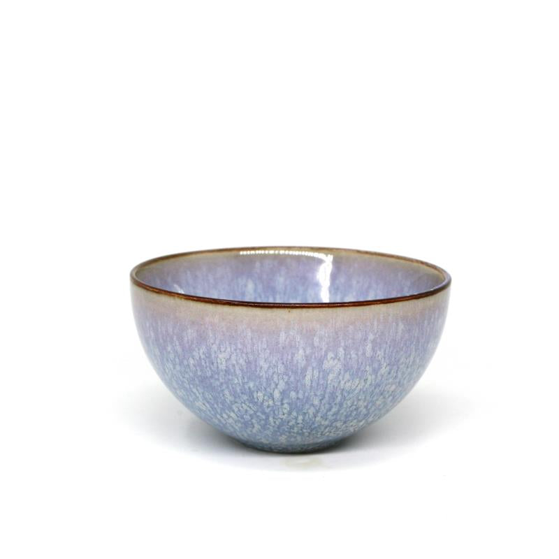 "BIA 4.5"" Grey Glazed Dip Bowl"