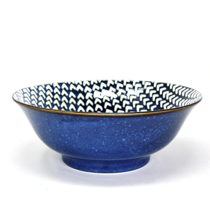 "BIA Reactive Serving Bowl 8"" - Chevron"